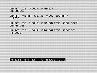 A Story, 1983